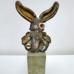 Albert Westerhoff - Mr. Phoney Boney, bronze, Edition of 3, 2013,  Size approx. H 25 cm x W 10 cm