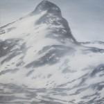 Anne van As - Nordic Peaks, 2016, 100 x 80 cm, olieverf op linnen