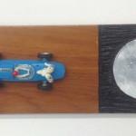 Rob Strick - Untitled 3-5-2017, Auto en acryl op hout, 11,2 x 30,5 cm, € 400