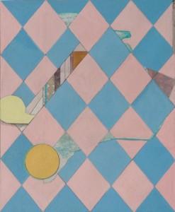 Matthias Schaareman - 1604, Mixed media op papier, 22 x 19 cm, 2016