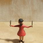 Paul de Reus - Spiegeltjes, 2012, 21x16 cm, hout, verf, € 1200,-