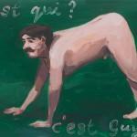 Frans van Tartwijk - Guy, 35 x 50 cm, aquarel, acryl en acryllak op hout, 2017, € 775