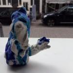 Irja Syvertsen - ' Samantha' keramiek en glazuur, ca 10 cm hoog, 2016