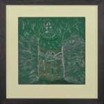 Niels Broszat – Bosreis, 2012, 20 x 20 cm (Rahmengröße), bleistift und Kohle auf Papier, € 950-sml