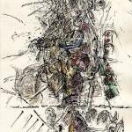 Chris Baaten - Zonder titel, 29,7 x 21 cm