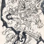 Chris Baaten - Zonder titel, 29,7 x 21 cm (2)