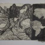 Romy Muijrers - op zoek naar de verloren tijd, 13-10-2017, nero en grafiet op papier, 50-35cm, 795