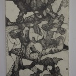 Romy Muijrers - op zoek naar de verloren tijd, 19-10-2017, nero en grafiet op papier, 50-35cm, 795