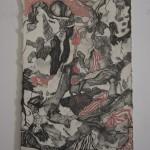 Romy Muijrers - op zoek naar de verloren tijd, 26-12-2017, nero, kleurpotlood en grafiet op papier, 50-35cm, 795