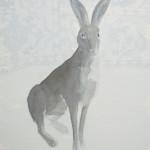 Anne van As - Wild, 2017 21 x 30 cm Oost-Indische inkt, acryl en potlood op artistico Fabriano 300 grams-