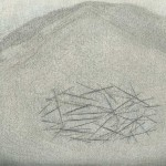 Victor van Loon l no title l  mixed technique on paper l  15 x 21 cm l 2018
