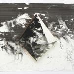 Lenneke van der Goot - Mirror (Glow), 30 x 37 x 2 cm, litho-tekening, 2018